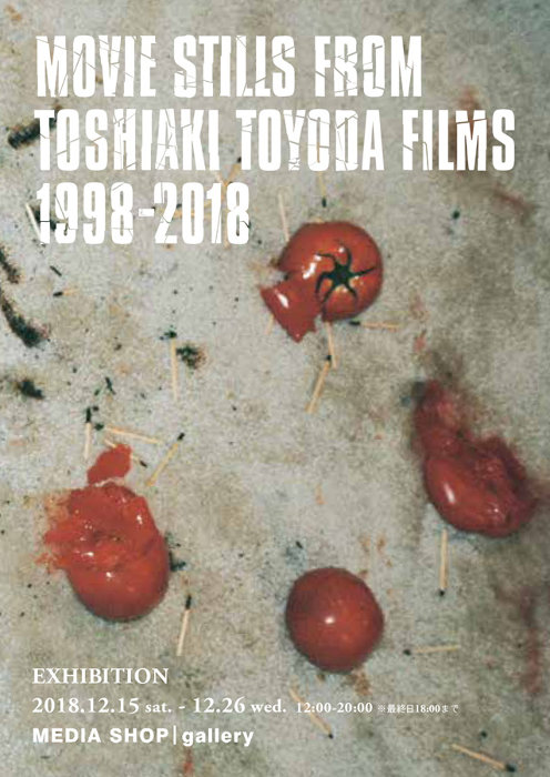 "『EXHIBITION / TOSHIAKI TOYODA"" MOVIE STILLS FROM TOSHIAKI TOYODA FILMS 1998 - 2018""』ビジュアル"