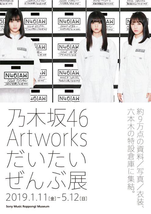 『乃木坂46 Artworks だいたいぜんぶ展』ビジュアル ©乃木坂 46LLC
