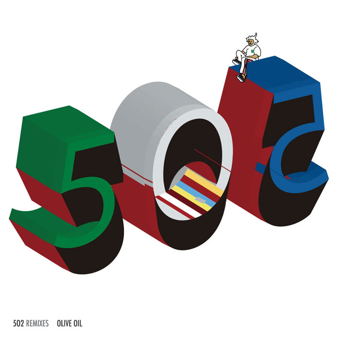 5lack×Olive Oil『5O2 Remixes』ジャケット