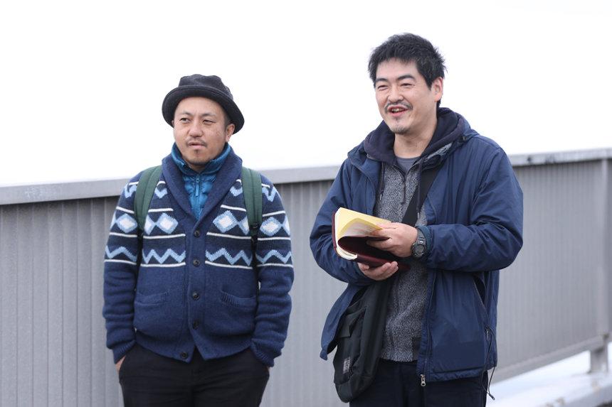 左から白石和彌監督、沖田修一監督