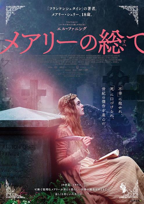 『メアリーの総て』ポスタービジュアル ©Parallel Films (Storm) Limited / Juliette Films SA / Parallel (Storm) Limited / The British Film Institute 2017
