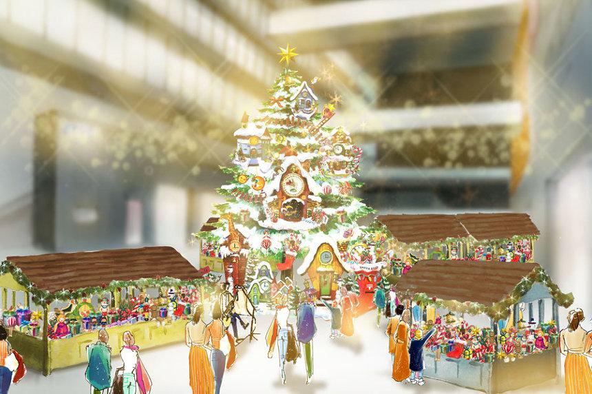 『チックタック村の冬祭り』イメージビジュアル
