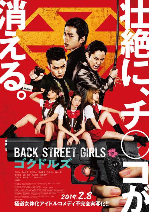 『Back Street Girls -ゴクドルズ-』ポスタービジュアル ©2019 映画「ゴクドルズ」製作委員会
