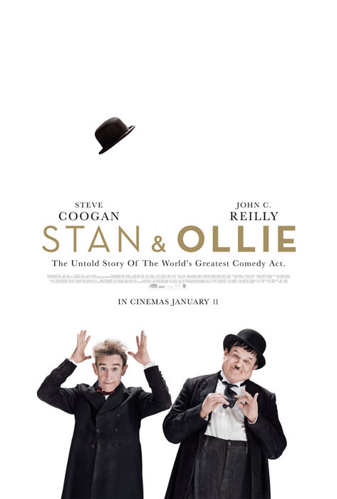 『Stan & Ollie(原題)』ポスタービジュアル ©eOne Features (S&O) Limited, British Broadcasting Corporation 2018