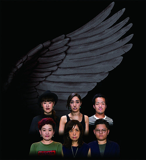『Ping Chong's ドキュメンタリー・シアター Undesirable Elements「生きづらさを抱える人たちの物語」』イメージビジュアル