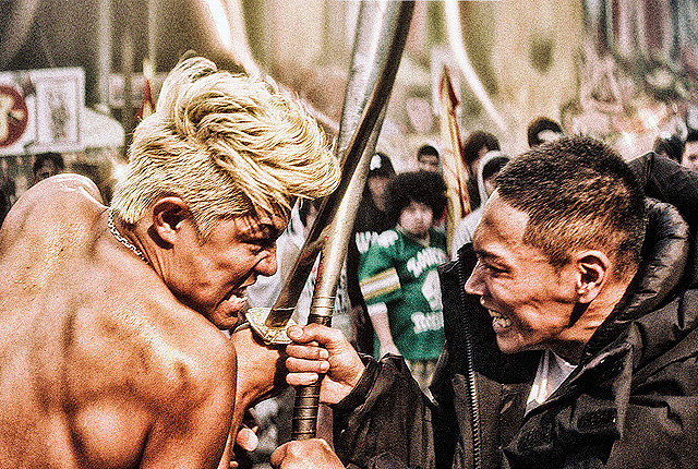 """映画『TOKYO TRIBE』 ©2014 INOUE SANTA / """"TOKYO TRIBE"""" FILM PARTNERS"""