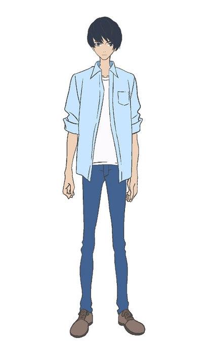 雛罌粟港キャラクタービジュアル ©2019「きみと、波にのれたら」製作委員会