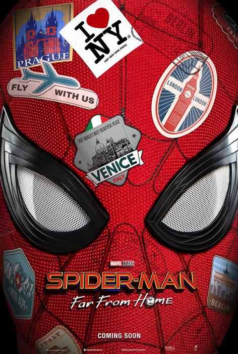 『スパイダーマン:ファー・フロム・ホーム』海外版ティザーポスタービジュアル
