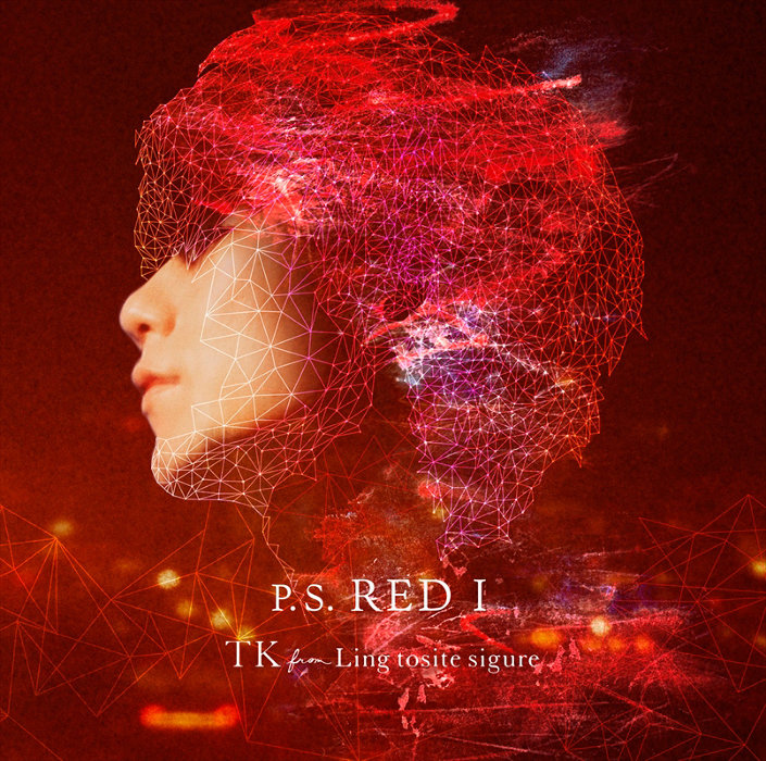 TK from 凛として時雨『P.S. RED I』通常盤ジャケット