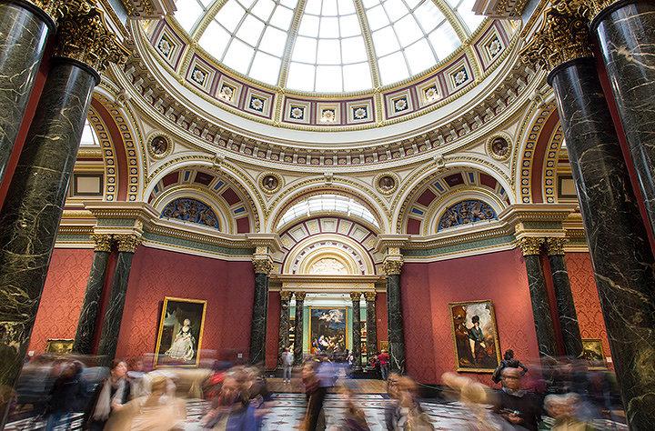 ロンドン・ナショナル・ギャラリー内観 ©The National Gallery, London