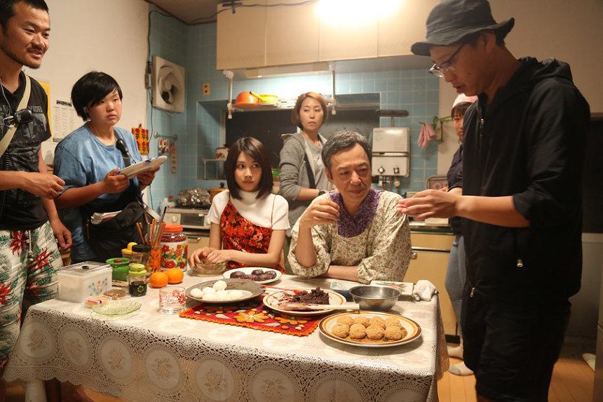 『おいしい家族』撮影風景 ©2019「おいしい家族」製作委員会