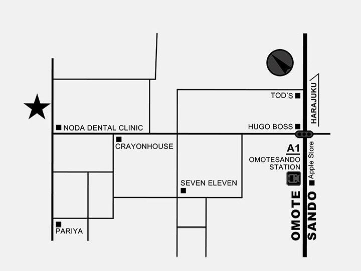 「pixiv WAEN GALLERY by TWIN PLANET × pixiv」所在地地図