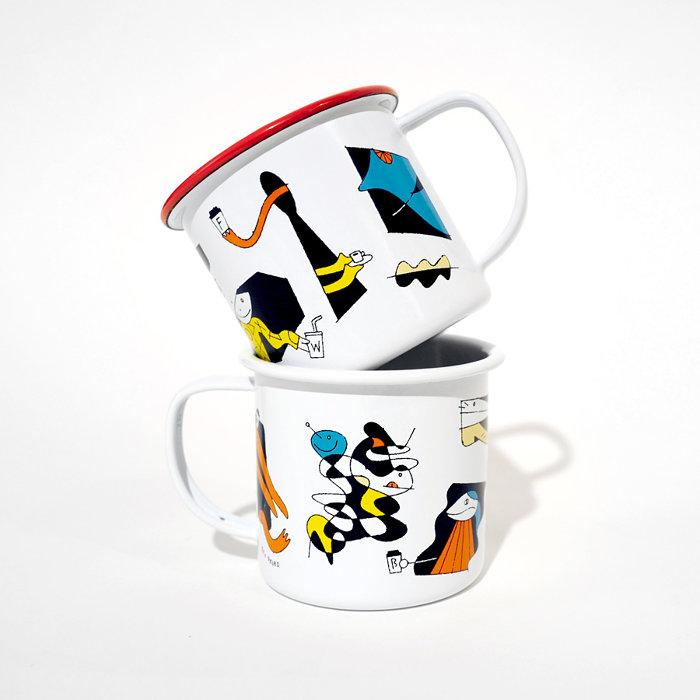 オオクボリュウ × ABOUT LIFE COFFEE BREWERSオリジナルホーローマグカップ