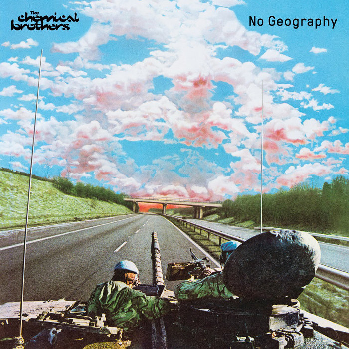 The Chemical Brothers『No Geography』ジャケット