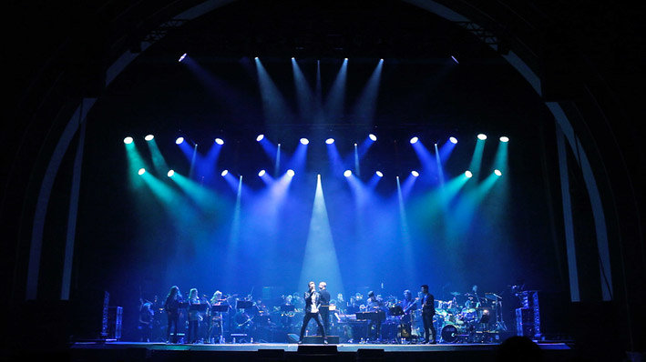 『QUEEN SYMPHONIC -A ROCK & ORCHESTRA EXPERIENCE-』の模様