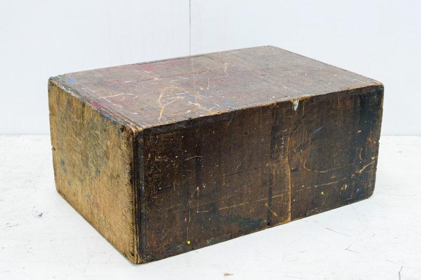中西夏之『木の箱』