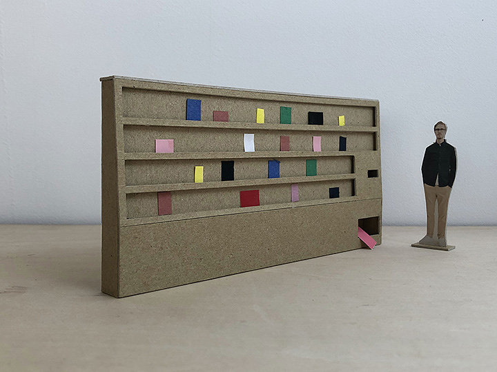 「Art Book Vending Machine」イメージビジュアル