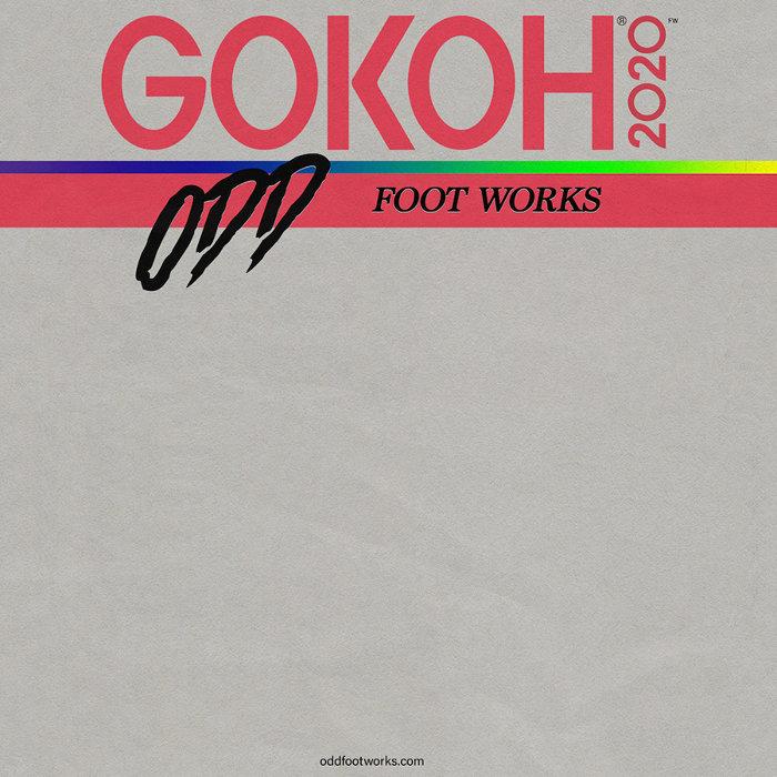踊Foot Works『GOKOH feat. オカモトレイジ』ジャケット