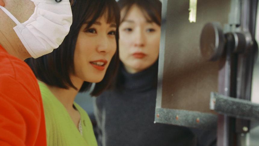 「ROPÉ PICNIC」新ウェブ動画「自由に変わろ。松岡茉優の3変化ムービー ほどほどOL篇」メイキング