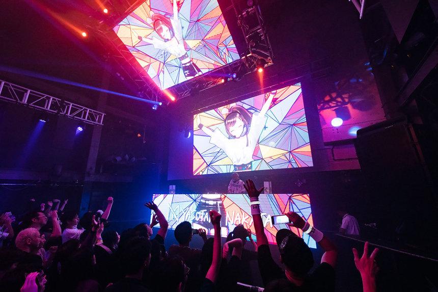 "『Kizuna AI 1st Live""hello, world""』の模様"