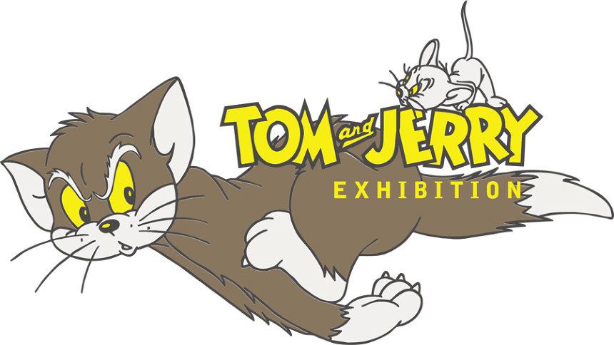 『誕生80周年 トムとジェリー展 カートゥーンの天才コンビ ハンナ=バーベラ』ロゴ TOM AND JERRY and all related characters and elements © & TM Turner Entertainment Co. (s19)