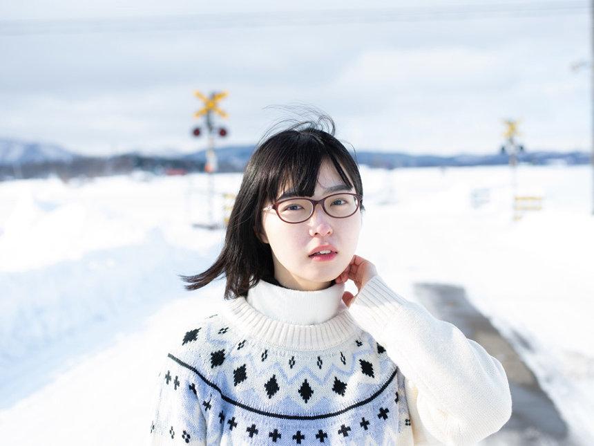 青山裕企『少女礼讃 筑波展~島筑雪恋~』展ビジュアル