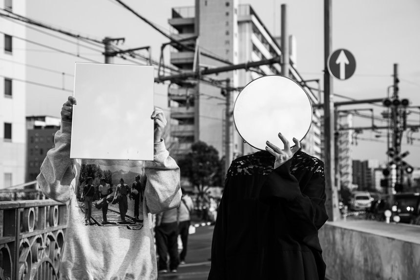 尾崎世界観と最果タヒ ©南阿沙美