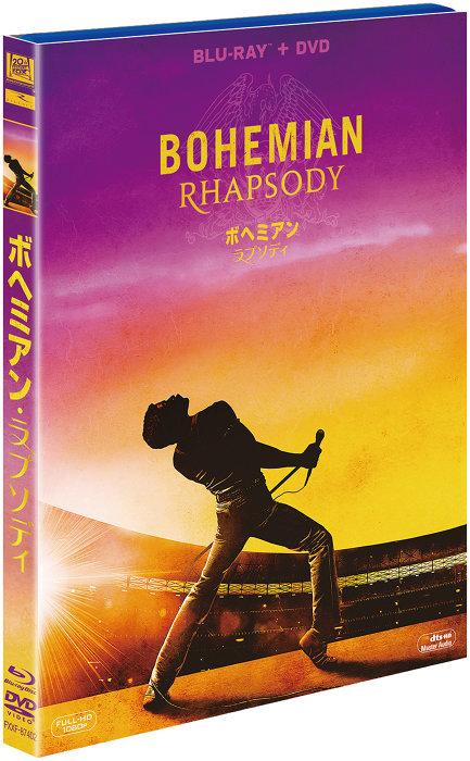 『ボヘミアン・ラプソディ』(Blu-ray+DVD)パッケージ