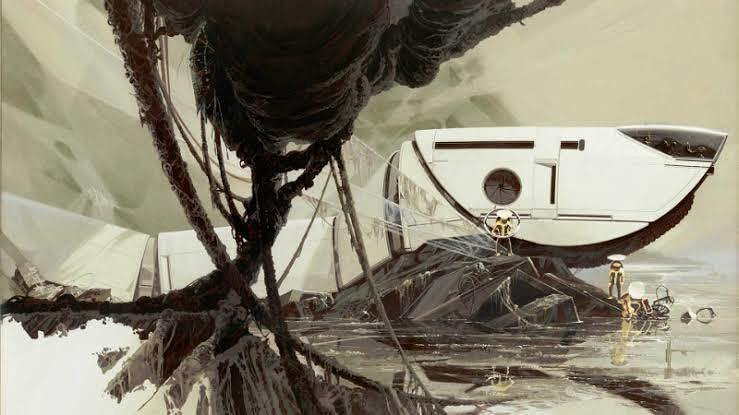 JUNGLE CRAWLER : 4(Gouache) ©Syd Mead, Inc.