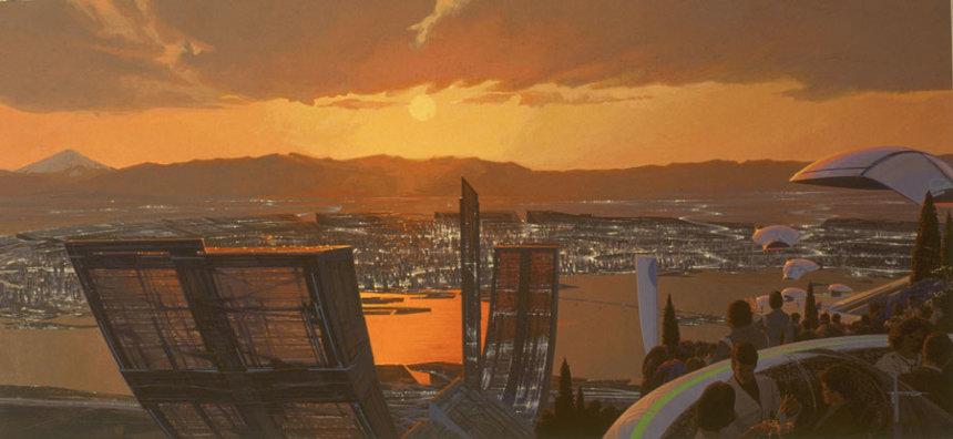 TOKYO 2040 ©Syd Mead, Inc.
