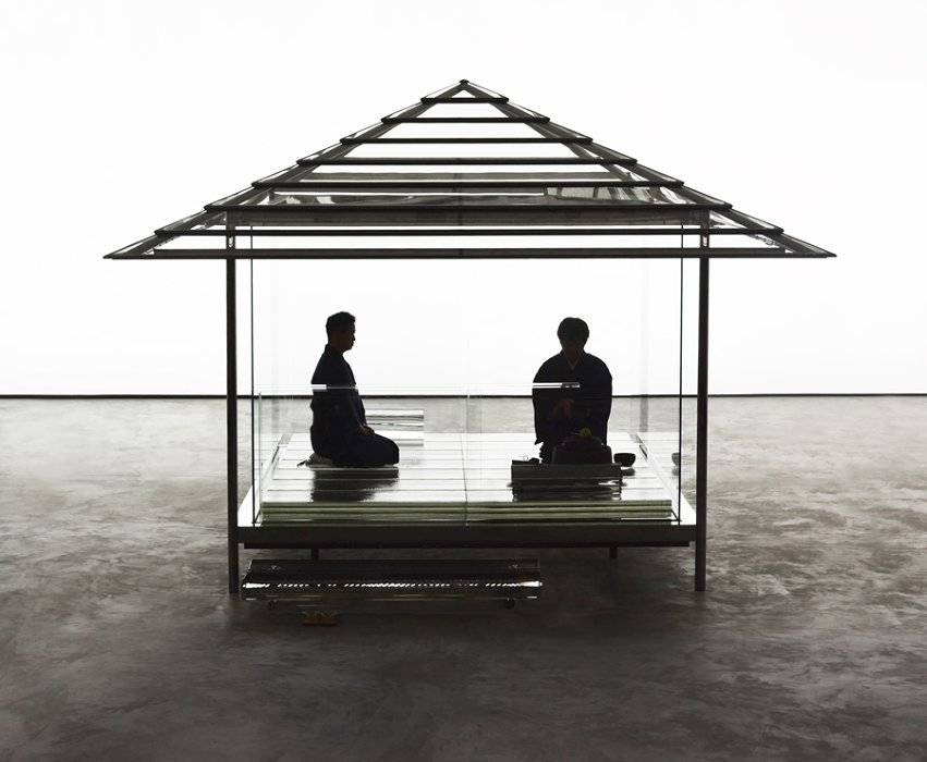 『吉岡徳仁 ガラスの茶室―光庵』
