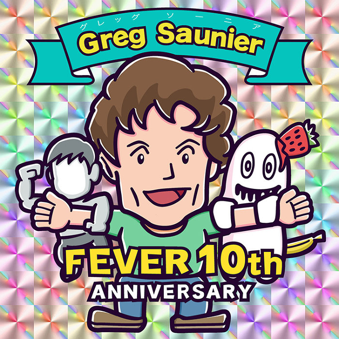 『FEVER 10th Anniversary [Greg+』ビジュアル