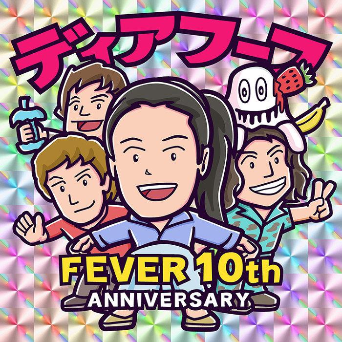 『FEVER 10th Anniversary FEVER×DEERHOOF @新代田FEVER』ビジュアル