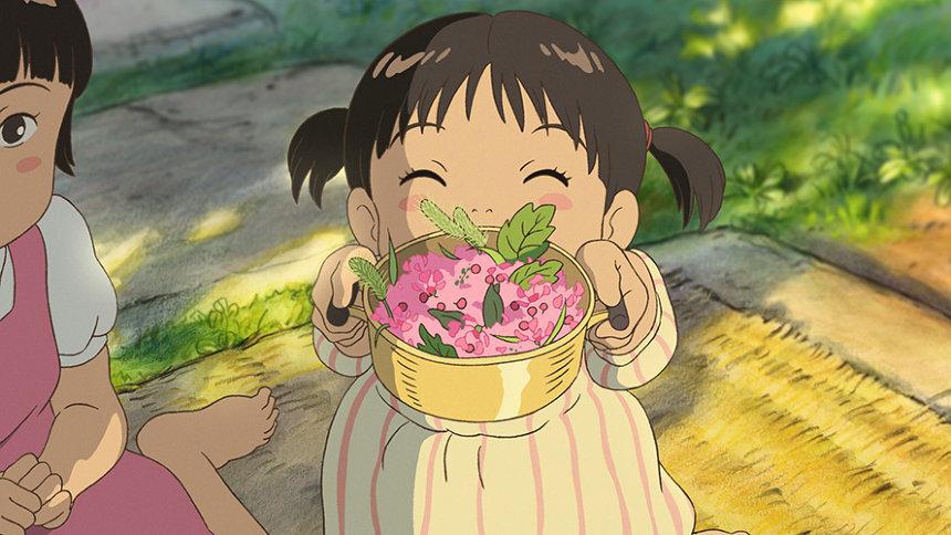 ハウス食品「おうちで食べよう。」シリーズCM「庭の千草」バージョン ©2016 Studio Ghibli