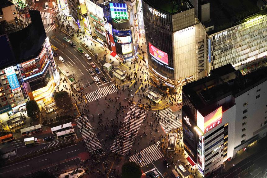 「SHIBUYA SKY」眺望イメージビジュアル(提供元:渋谷駅街区共同ビル事業者)
