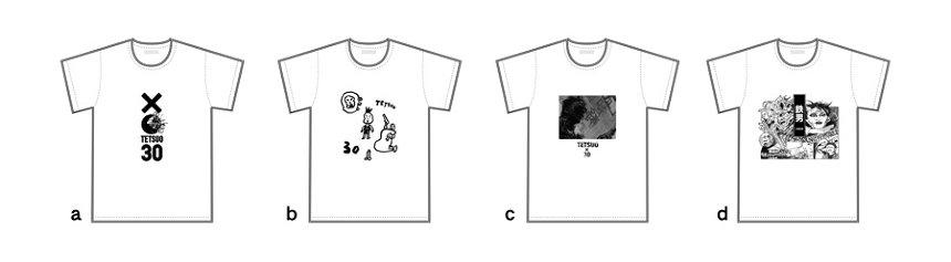 「『鉄男』30周年記念」Tシャツビジュアル