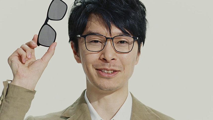 「JINS Switch」新CM『語る』篇より