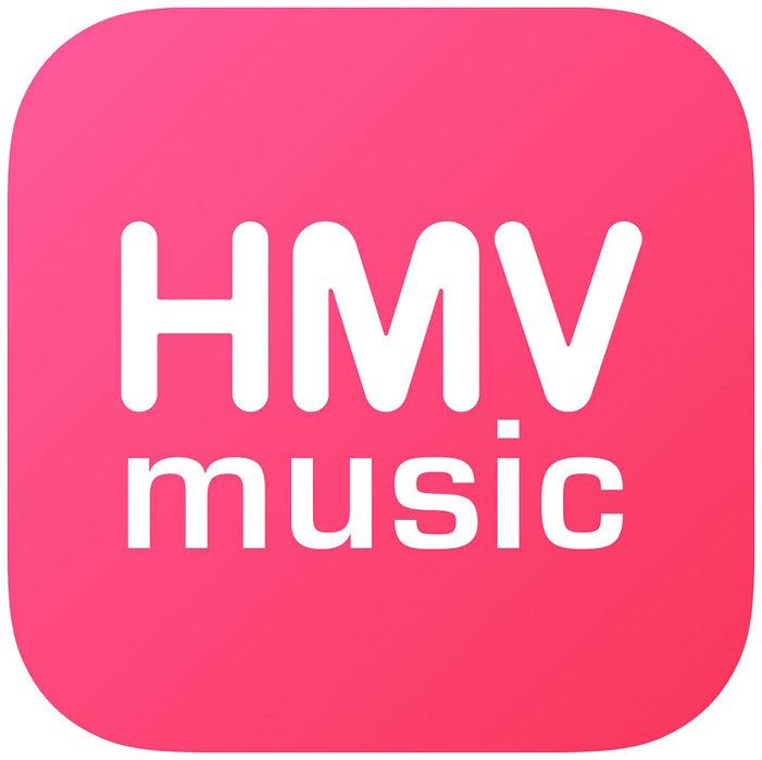 「HMVmusic powered by KKBOX」ロゴ