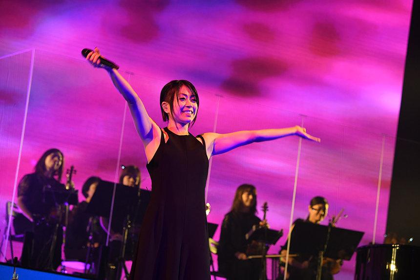 宇多田ヒカル『Hikaru Utada Laughter in the Dark Tour 2018』より 撮影:岸田哲平 TEPPEI KISHIDA