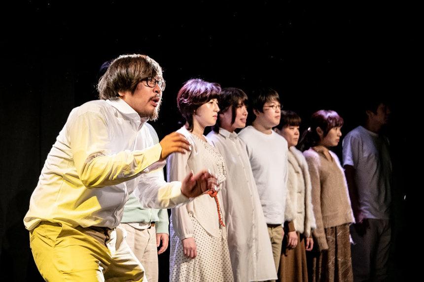 『無教訓意味なし演劇vol.9「懺悔室、充実の4LDK」より』の模様 撮影:塚田史香