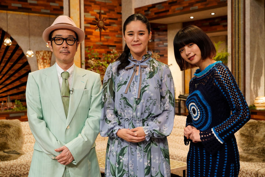 左からリリー・フランキー、手嶌葵、池田エライザ