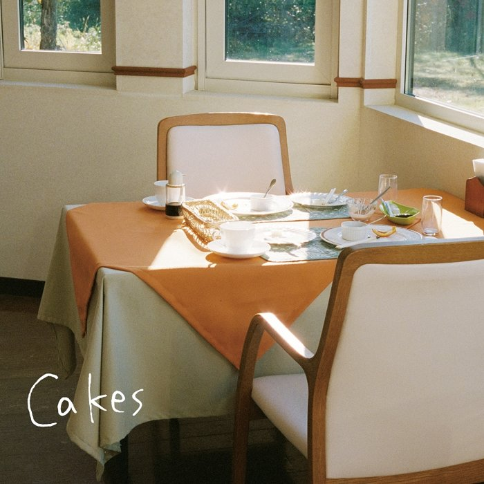 Homecomings『Cakes』ジャケット