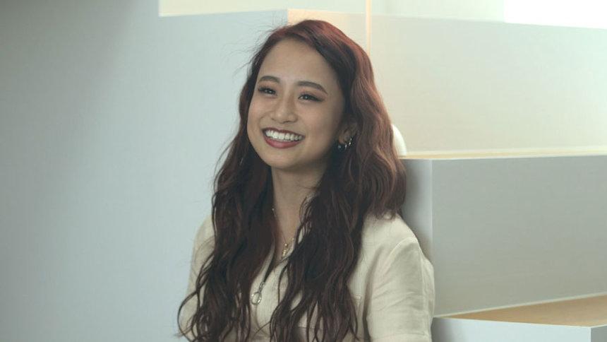 田辺莉咲子 ©フジテレビ/ イースト・エンタテインメント