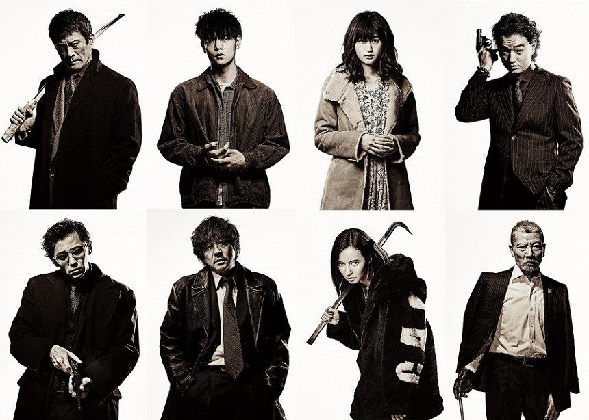『初恋』出演者一覧 ©2020「初恋」製作委員会