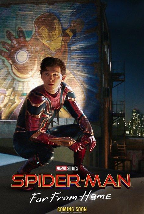 『スパイダーマン:ファー・フロム・ホーム』ビジュアル
