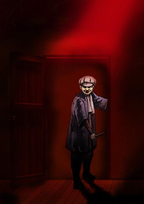 『闇芝居』キービジュアル ©「闇芝居」製作委員会2019