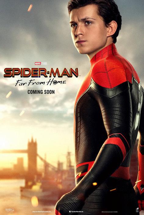『スパイダーマン:ファー・フロム・ホーム』スパイダーマンポスタービジュアル