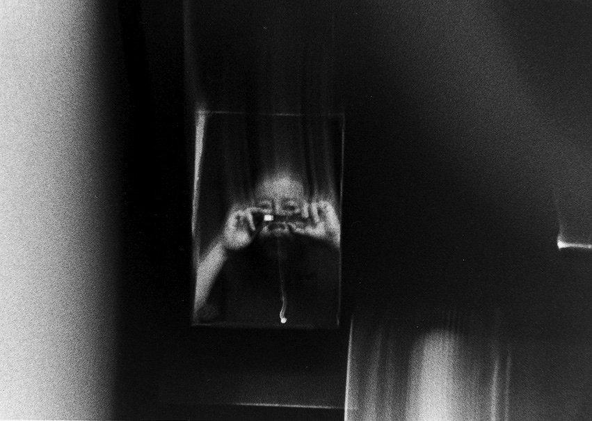 Issei Suda『The Mechanical Retina on My Fingertips』1991-92 ©Yoshiko Suda