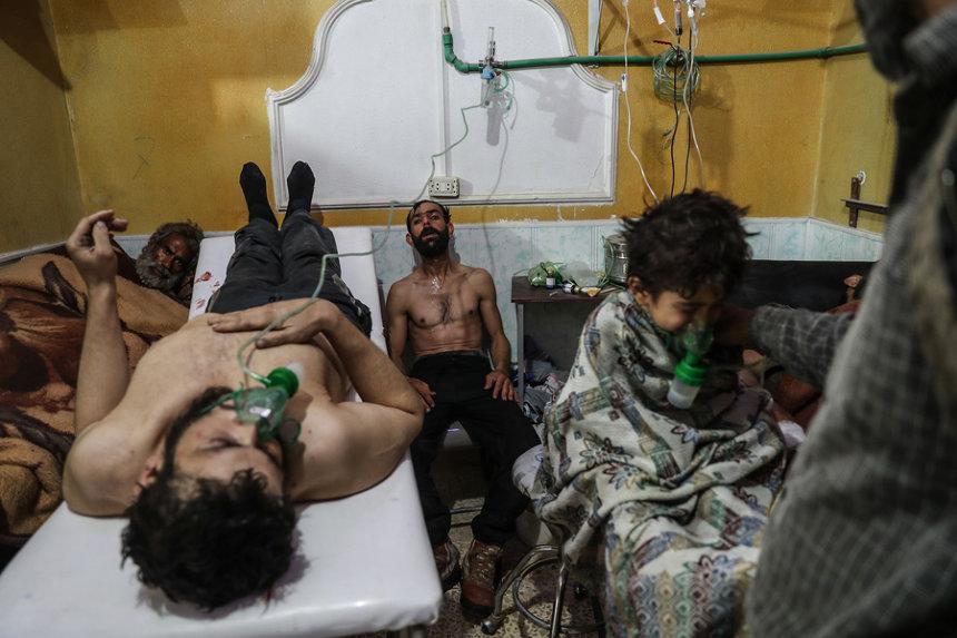 モハメド・バドラ(シリア、EPA通信)作品