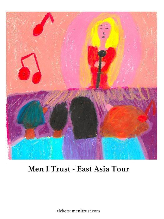 『MEN I TRUST East Asia Tour 2019』ビジュアル